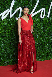Nathalie Emmanuel attending the Fashion Awards 2019 at the Royal Albert Hall in London, England on December 02, 2019. Photo by Bakounine/ABACAPRESS.COM