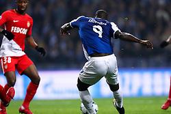 December 6, 2017 - Porto, Porto, Portugal - Porto's Cameroonian forward Vincent Aboubakar score a goal during the UEFA Champions League Group G match between FC Porto and AS Monaco FC at Dragao Stadium on December 6, 2017 in Porto, Portugal. (Credit Image: © Dpi/NurPhoto via ZUMA Press)