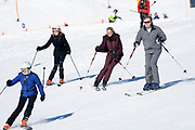 Fotosessie met de koninklijke familie in Lech /// Photoshoot with the Dutch royal family in Lech .<br /> <br /> Op de foto/ On the photo: Koningin Maxima, Koning Willem Alexander///// Queen Maxima, King Willem Alexander