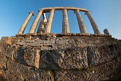 Temple of Poseidon, Cape Sounion, Attic, Greece