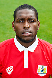 Jay Emmanuel-Thomas poses for a head shot - Photo mandatory by-line: Rogan Thomson/JMP - 07966 386802 - 04/08/2014 - SPORT - FOOTBALL - BCFC Training Ground, Failand - Bristol City, 2014/15 Team Photos.