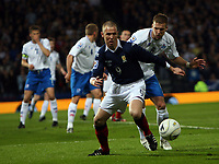 Scotland v Iceland<br /> World Cup Qualifier<br /> Hampden Park / BT Stadium<br /> Glasgow<br /> <br /> Kenny Miller & Steinsson<br /> 1st April 2009<br /> <br /> <br /> <br /> <br /> Ian MacNicol<br /> 07949 850 537<br /> ian_mac1966@yahoo.com<br /> www.ianmacnicolimages.co.uk