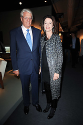 Private View of the Pavilion of Art & Design London 2010 held in Berkeley Square, London on 11th October 2010.<br /> Picture Shows:-DR & MRS GERT RUDOLPH FLICK