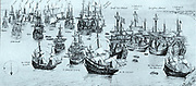 The Conquest of the Silver Fleet. The 8th of September 1628. Despite the general perception that many Spanish galleons were captured by English or Dutch privateers, few fleets were actually lost to enemies in the course of the flota's long career. Only Piet Hein managed to capture the fleet in 1628 and bring the whole cargo safely to the Dutch Republic