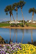 Homes and golf course at The Sandestin Golf & Beach Resort, Destin, Florida