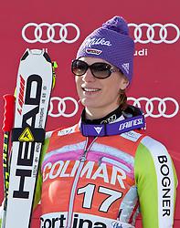 23.01.2011, Tofana, Cortina d Ampezzo, ITA, FIS World Cup Ski Alpin, Lady, Cortina, SuperG, im Bild Maria Riesch (GER, #17, Platz 2) // Maria Riesch (GER, place 2) during FIS Ski Worldcup ladies SuperG at pista Tofana in Cortina d Ampezzo, Italy on 23/1/2011. EXPA Pictures © 2011, PhotoCredit: EXPA/ J. Groder
