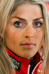February 22, 2019 - Seefeld In Tirol, AUSTRIA - 190222 Therese Johaug of Norway at a press event during the FIS Nordic World Ski Championships on February 22, 2019 in Seefeld in Tirol..Photo: Vegard Wivestad GrÂ¿tt / BILDBYRN / kod VG / 170287 (Credit Image: © Vegard Wivestad Gr¯Tt/Bildbyran via ZUMA Press)