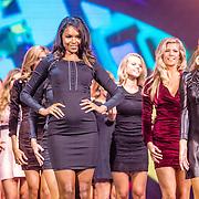 NLD/Hilversum/20160926 - Finale Miss Nederland 2016, Francis Everduim, Denise Zwier, Jessica Wohrmann