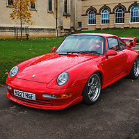 Porsche 993 GT2 Clubsport at Rennsport Collective at Stowe House, Buckinghamshire, UK, on 1 November 2020