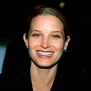 Actrice Bridget Fonda at the premiere of her movie A Simple Plan at the moviefestival Rotterdam the Netherlands