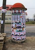 21.11.2010  n / z  plakaty wyborcze  fot Michal Kosc / AGENCJA WSCHOD