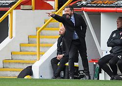 Aberdeen manager Derek McInnes during the William Hill Scottish Cup quarter final match at Pittodrie Stadium, Aberdeen.