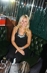 BEVERLEY BLOOM at a party hosted by Allegra Hicks and Melissa Del Bono to celebrate the opening of Volstead, Swallow Street, London W1 on 4th May 2006.<br /><br />NON EXCLUSIVE - WORLD RIGHTS