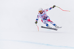 February 9, 2019 - Re, SWEDEN - 190209 Adrien Theaux of France competes in the downhill during the FIS Alpine World Ski Championships on February 9, 2019 in re  (Credit Image: © Daniel Stiller/Bildbyran via ZUMA Press)
