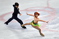 Tiffani ZAGORSKI, Jonathan GUERREIRO RUSSIA <br /> Ice Dance Short Dance <br /> Milano 23/03/2018 Assago Forum <br /> Milano 2018 - ISU World Figure Skating Championships <br /> Foto Andrea Staccioli / Insidefoto