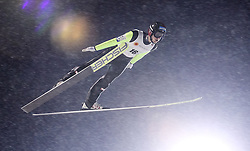 22.02.2016, Puijo, Kuopio, FIN, FIS Weltcup Ski Sprung, Kuopio, Teamspringen, im Bild Philipp Aschenwald (AUT) // Philipp Aschenwald of Austria during Mens Teamevent of Kuopio FIS Skijumping World Cup at the Puijo in Kuopio, Finland on 2016/02/22. EXPA Pictures © 2016, PhotoCredit: EXPA/ Tadeusz Mieczynski