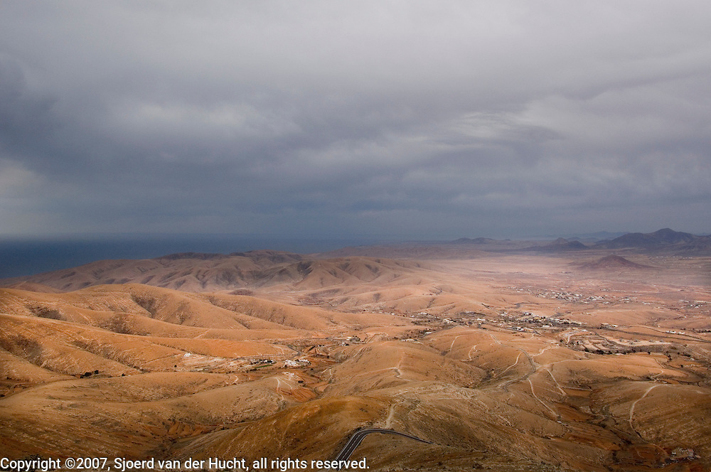 Mirador del Morro , Fuerteventura, Spain.