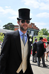 LORD EDWARD SPENCER-CHURCHILL at day 1 of the 2011 Royal Ascot Racing festival at Ascot Racecourse, Ascot, Berkshire on 14th June 2011.