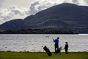A golfer on the 4th hole on Killeen Course at Killarney golf club.<br /> Photo: Don MacMonagle
