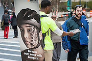 """""""Street Smart"""" pedestrian safety campaign launch in Silver Spring, Md. Street Smart is an annual public education, awareness and behavioral change campaign in the Washington, DC, suburban Maryland and northern Virginia area. <br /> <br /> Since its beginning in 2002, the campaign has used radio, newspaper, and transit advertising, public awareness efforts, and added law enforcement to respond to the challenges of pedestrian and bicyclist safety.<br /> <br /> The Street Smart program emphasizes education of motorists and pedestrians through mass media. It is meant to complement, not replace, the efforts of state and local governments and agencies to build safer streets and sidewalks, enforce laws, and train better drivers, cyclists, and pedestrians.<br /> <br /> The program is coordinated by the National Capital Region Transportation Planning Board (TPB), and is supported by federal funds made available through state governments, and funding from some TPB member jurisdictions."""