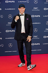 Axel Schulz poses along the red carpet of the Laureus Sports Awards 2019 ceremony at the Sporting Monte-Carlo in Monaco on February 18, 2019. Photo by Marco Piovanotto/ABACAPRESS.COM