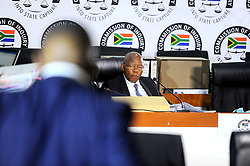 South Africa - Johannesburg - 13 October 2020 - Former Eskom board chair Ben Ngubani testifying at the Zondo Commission of Inquiry.<br />Picture:Nokuthula Mbatha/African News Agency(ANA)