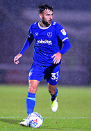 Ben Close of Portsmouth in action. EFL Skybet Football League one match, Northampton Town v Portsmouth at the Sixfields Stadium in Northampton on Tuesday 12th September 2017. <br /> pic by Bradley Collyer, Andrew Orchard sports photography.