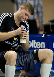 Robert Archibald of Great Britain at practice  in Arena Torwar a day before the beginning of the Eurobasket 2009, on September 06, 2009 in Warsaw, Poland. (Photo by Vid Ponikvar / Sportida)