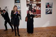 NICK HARVEY; AMANDA NELSON; CLAIRE BRISTAN, Dazed & Confused 20th Anniversary Exhibition. Somerset House. London. 3 November 2011<br /> <br />  , -DO NOT ARCHIVE-© Copyright Photograph by Dafydd Jones. 248 Clapham Rd. London SW9 0PZ. Tel 0207 820 0771. www.dafjones.com.