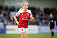 Arsenal defender Leah Williamson (6) during the FA Women's Super League match between Arsenal Women FC and Manchester City Women at Meadow Park, Borehamwood, United Kingdom on 12 May 2019.