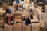 Italian fine wines at Eataly