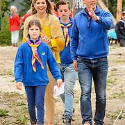 NLD/Zeewolde/20150613 - Koningin Máxima opent Scoutinglandgoed Zeewolde (POOL)