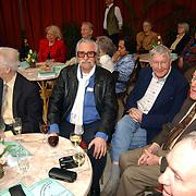 Hommage Ad van der Gein, Peter Callenbach(witte sjaal) en Eddy Christiani