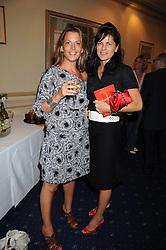 Left to right, TANIA FOSTER-BROWN and LUCY TANG at a party to celebrate the publication on 'Unsuitable' by Suzy Parsons held at St.Stephen's Club, 34 Queen Anne's Gate, London SW1 on 19th June 2008<br /><br />NON EXCLUSIVE - WORLD RIGHTS