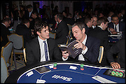 JONAH KING, Quintessentially Foundation Poker Night,  annual poker night,  to raise money for Right to play, Greenhouse and Place2Be. Savoy. 13 November 2014.
