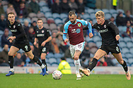 Burnley midfielder Steven Defour (16) during the The FA Cup 3rd round match between Burnley and Barnsley at Turf Moor, Burnley, England on 5 January 2019.