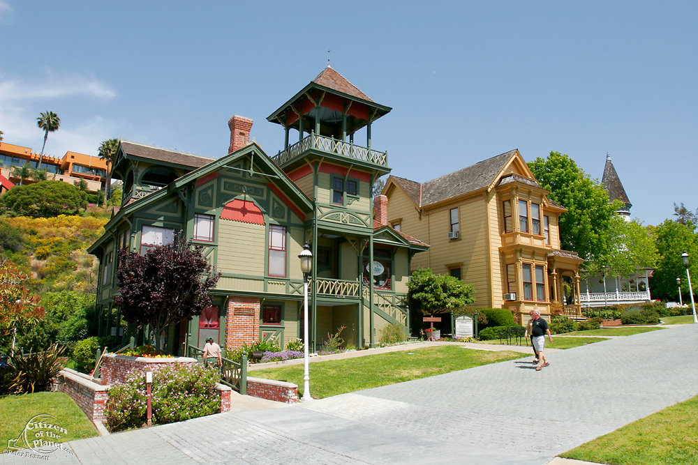Heritage Park, Relocated Victorian homes, San Diego, California (SD)