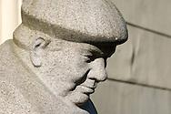 Sculpture in Riga, Latvia © Rudolf Abraham