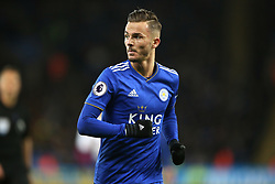 Leicester City's James Maddison during the Premier League match at the King Power Stadium, Leicester.