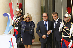 September 15, 2017 - Paris, France, France - Brigitte Macron - Francois Hollande - Emmanuel Macron (Credit Image: © Panoramic via ZUMA Press)