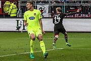 Fussball: 2. Bundeslkiga, FC St. Pauli - 1. FC Heidenheim, Hamburg, 28.04.2017<br /> <br /> (c) Torsten Helmke