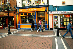Ireland: Dublin, Pub Davy Byrnes.  Photo: dublin104.Photo copyright Lee Foster, 510/549-2202, lee@fostertravel.com, www.fostertravel.com