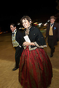 CHARLESTON, SC - DECEMBER 20: Guests in period costume arrive for the Secession Ball December 20, 2010 commemorating the 150th Anniversary of South Carolina's Secession from the Union in Charleston, SC.  South Carolina was the first state to secede resulting in the US Civil War.
