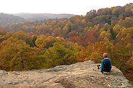 View from Airplane Rock, Hocking Forest, Hocking Hills, Ohio