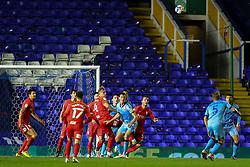 Birmingham City's Marc Roberts heads clear - Mandatory by-line: Nick Browning/JMP - 20/11/2020 - FOOTBALL - St Andrews - Birmingham, England - Coventry City v Birmingham City - Sky Bet Championship