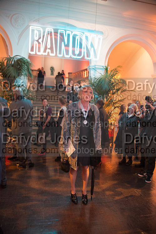GRAYSON PERRY, Gala Opening of RA Now. Royal Academy of Arts,  8 October 2012.