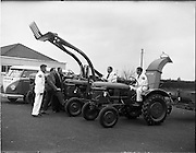01/04/1960.04/01/1960.01 April 1960.Deutz tractors demonstration team leave on tour of the country.