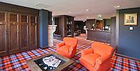 SPIJK - Kleedkamers Golfclub THE DUTCH bij Gorinchem. The Dutch is een privégolfclub die uitsluitend toegankelijk is voor members en hun gasten. Members worden begeleidt door de 10 professionals van Made in Scotland. FOTO KOEN SUYK