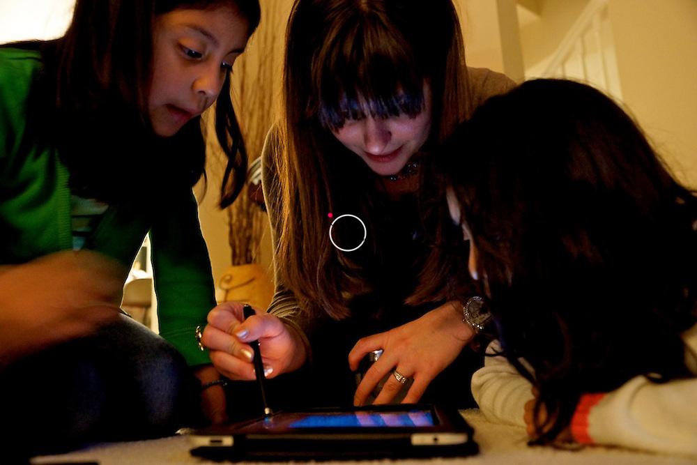 iPad fun for girls
