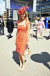 FAWN JAMES grandaughter of the late Paul Raymond and JILLY JAMES at at the first day of the 2009 Royal Ascot racing festival on 16th June 2009.